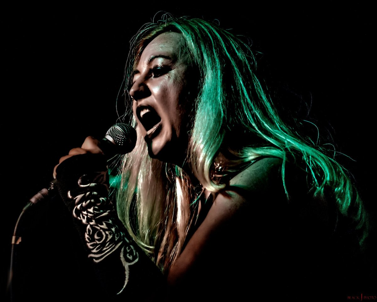 """Lena Campbell of Anarchy Lace """"I use music to purge the pain and angst in my heart andsoul"""""""