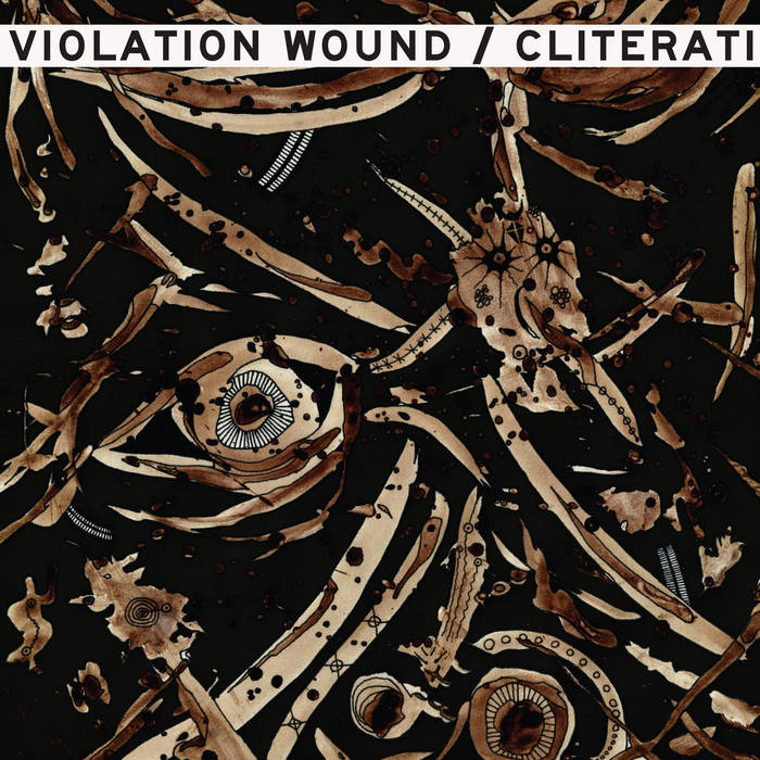 "VIOLATION WOUND Featuring Autopsy's Chris Reifert ""The Church Of Go Fuck Yourself"""