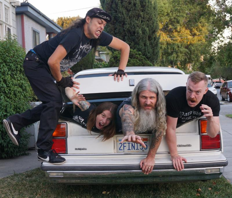 Deathgrind/Punk Practitioners DEATHGRAVE To Kick Off Pacific Northwest Tour ThisWeek