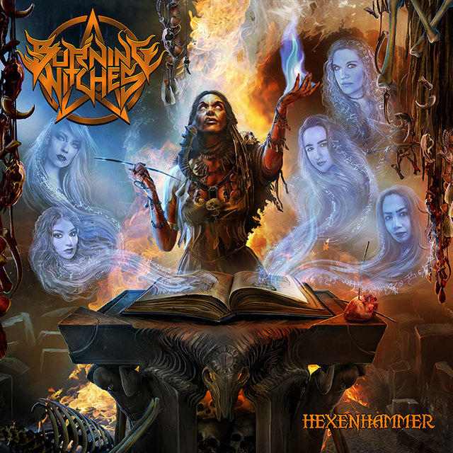 "BURNING WITCHES – ""Hexenhammer"" Cover Artwork Released!"