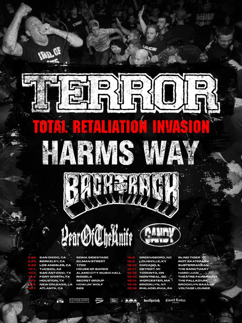 HARM'S WAY To Kick Off North American Tour Supporting Terror Next Month