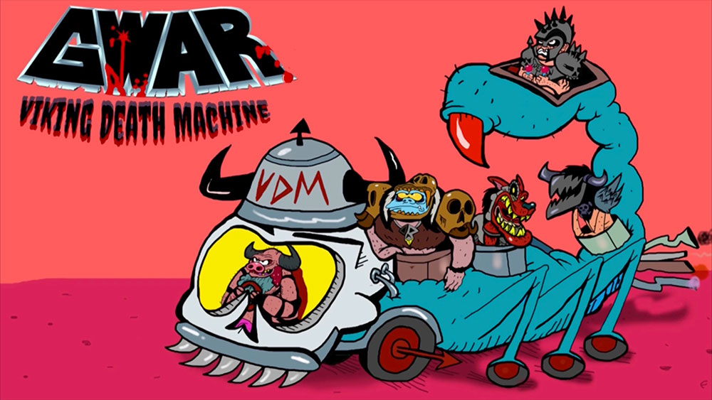 "GWAR releases video for ""Viking Death Machine"""