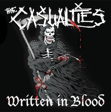 "The Casualties have released a new song called ""Ashes"""
