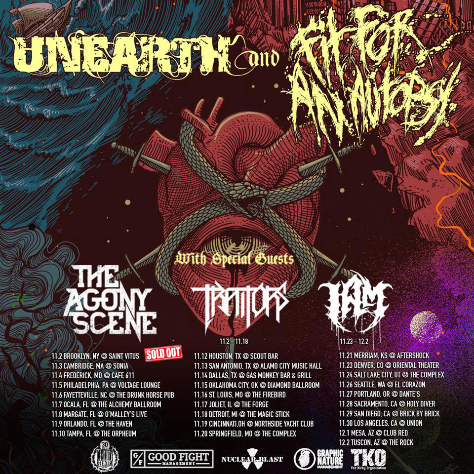 Watch UNEARTH Perform In Sacramento