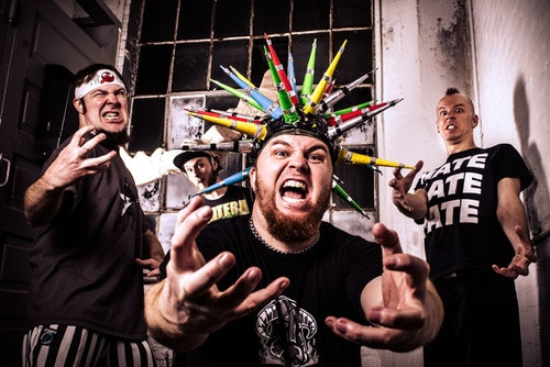 "Psychostick Drummer Alex ""Shmalex"" Dontre – ""It's a black hole and a distraction machine."""