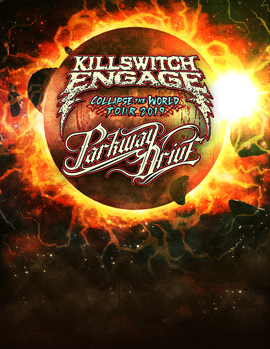 """Killswitch Engage and Parkway Drive announce co-headline """"Collapse The WorldTour"""""""