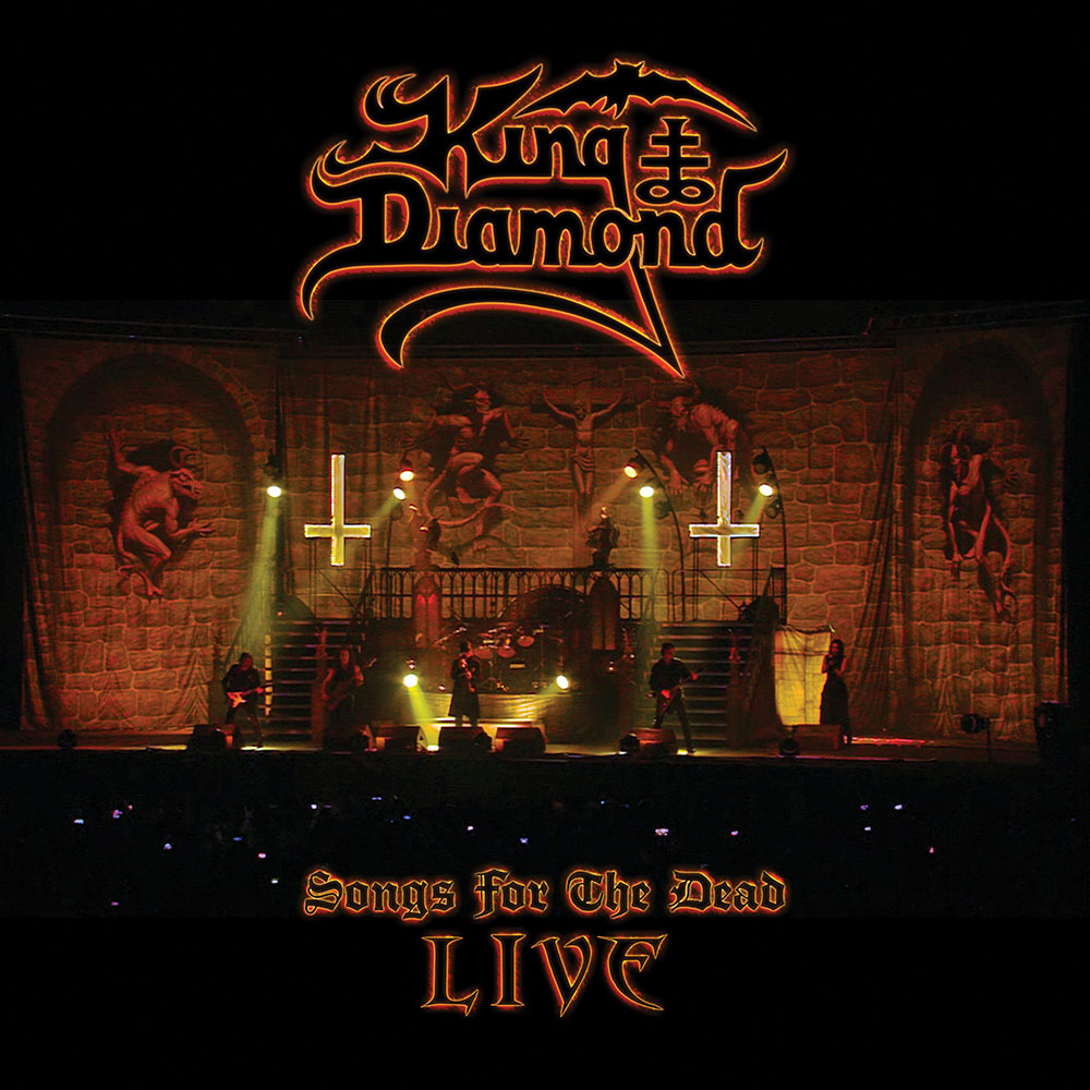 "King Diamond launches new video, ""Arrival (Live at Graspop)"""