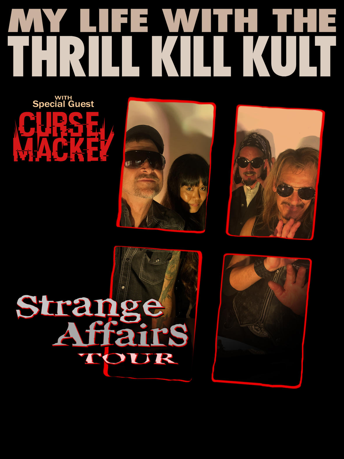 My Life With The Thrill Kill Kult Announce SpringDates