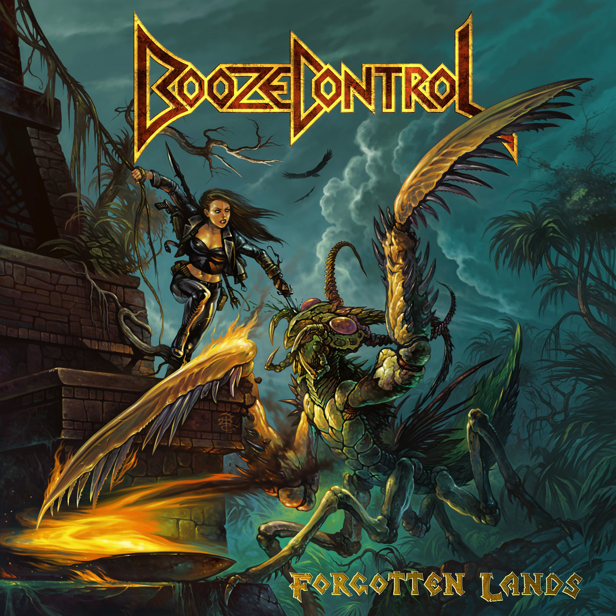 BOOZE CONTROL Streaming Title Track from 'Forgotten Lands'