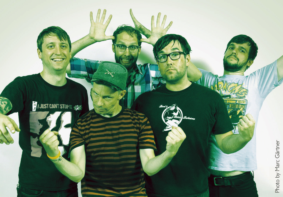 """Punk Rock Legends Kepi Ghoulie and the Copyrights Team Up on """"Re-Animation Festival"""" Out Jan8th"""