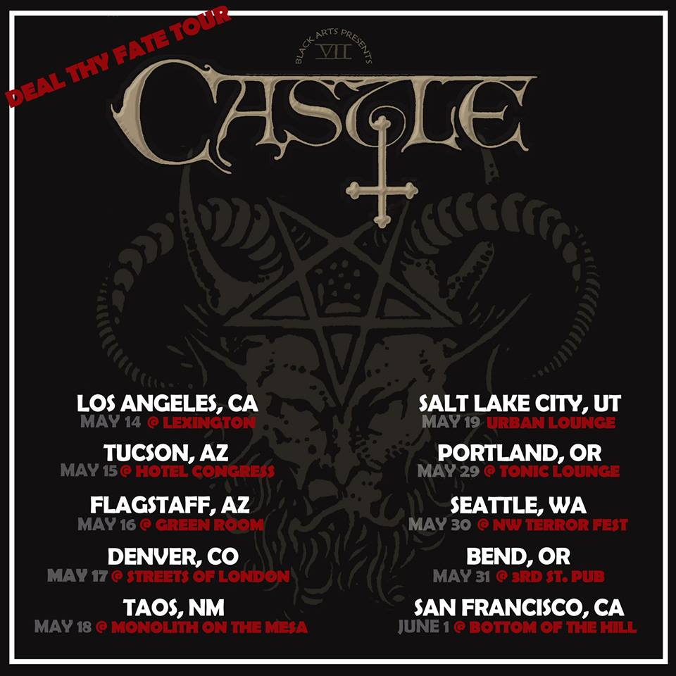 Castle Announce West CoastTour
