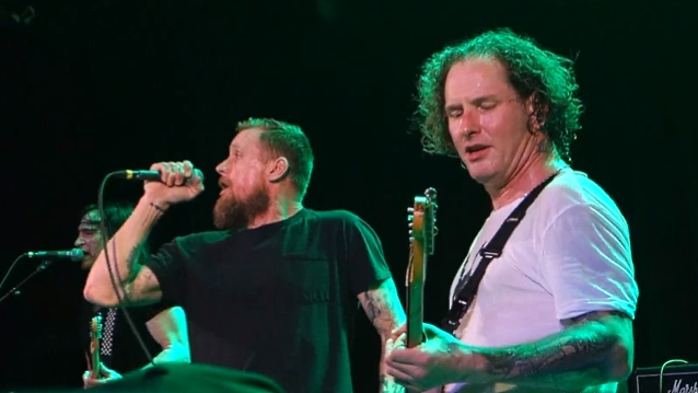 Multi-Camera Footage Of Corey Taylor 'Rise Above' Performance From The Roxy