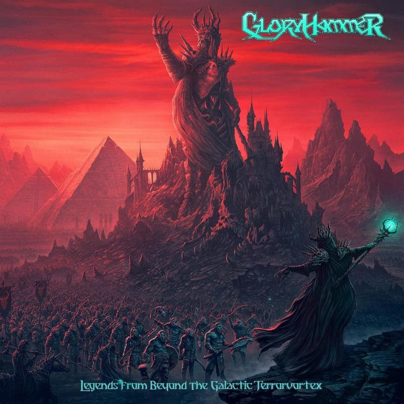 GLORYHAMMER Unveil New Album Cover and Title