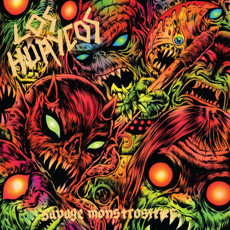 LOS HUAYCOS: Savage Monstrosities Full-Length From Hardcore Thrash Punks Out NOW And Streaming