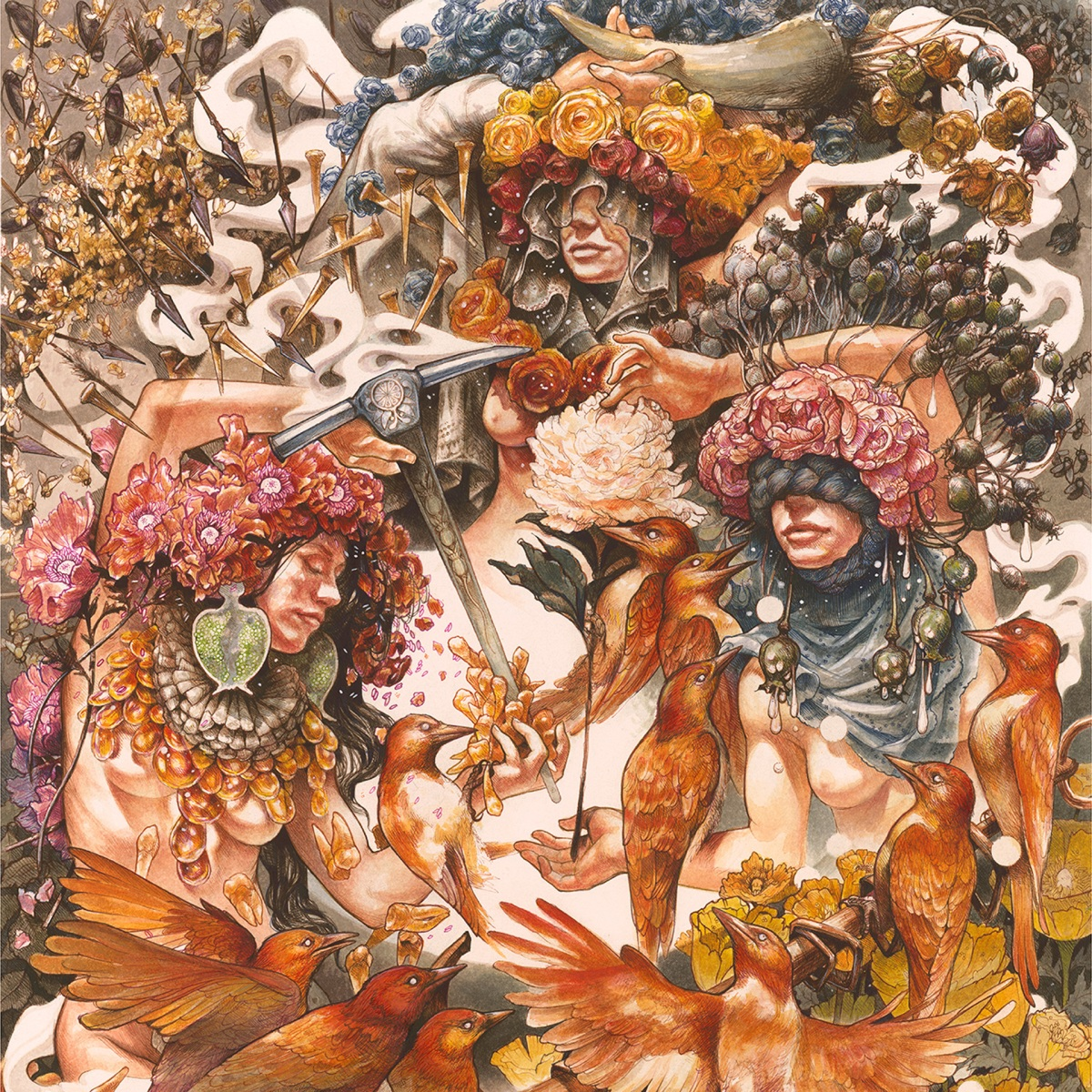 Baroness Release Gold and Grey on June 14 via AbraxanHymns