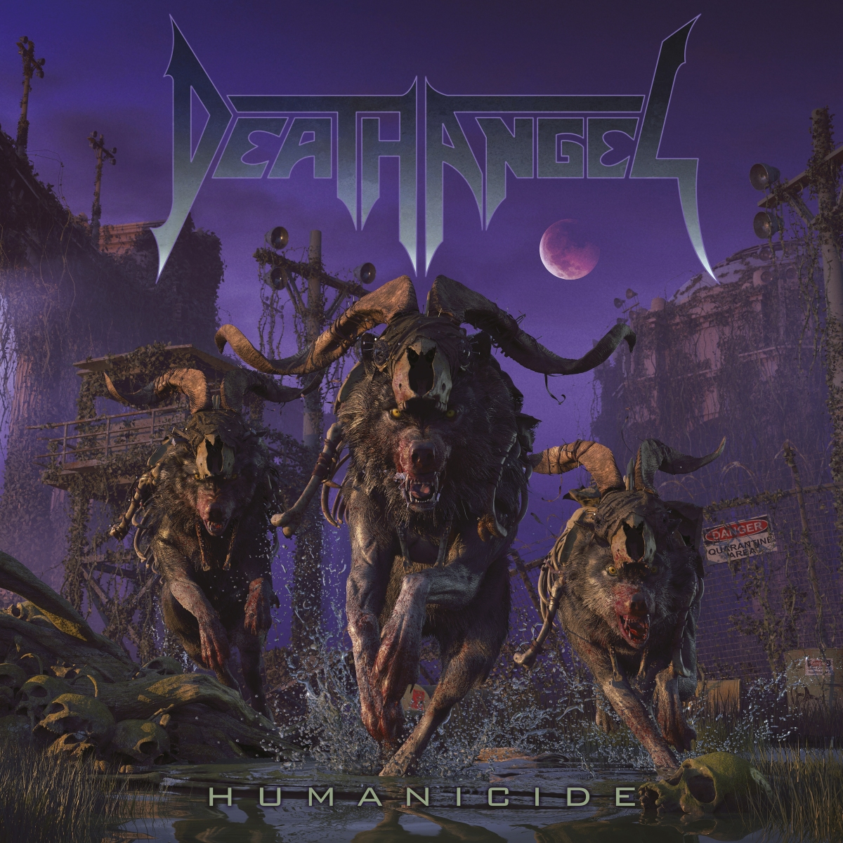 Death Angel To Release 9th Album, 'Humanicide,' On May 31st
