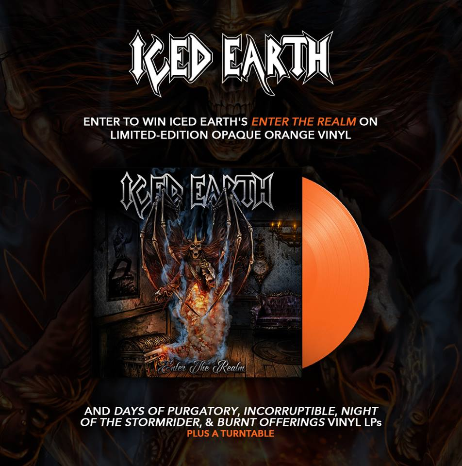 Win Iced Earth Vinyl And A Turntable From SonyMusic