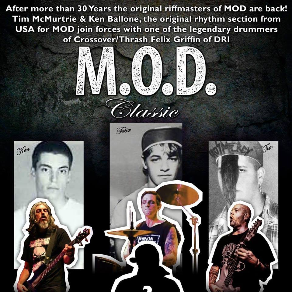 Check Out M.O.D. 'Ritz Hotel Presents M.O.D. The Official First Live Performance'!