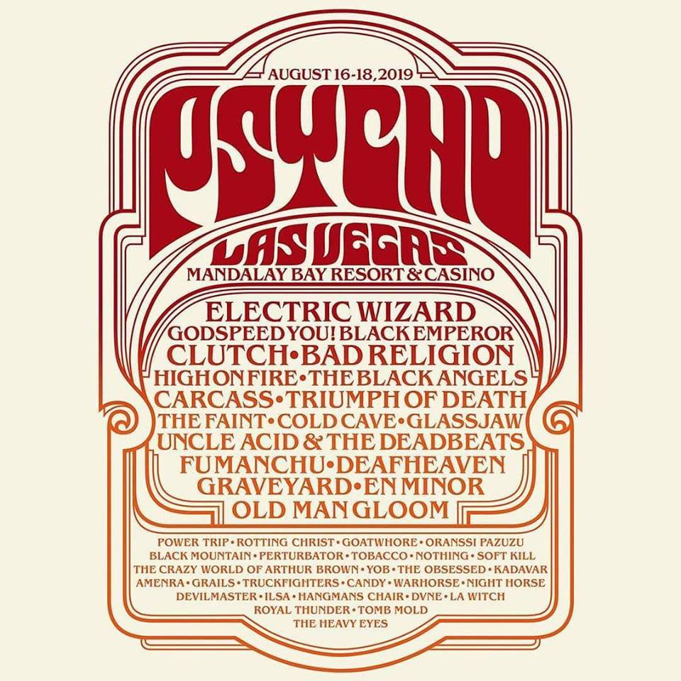 Psycho Las Vegas 2019 Adds Nothing, Yob, The Obsessed And More To Line Up