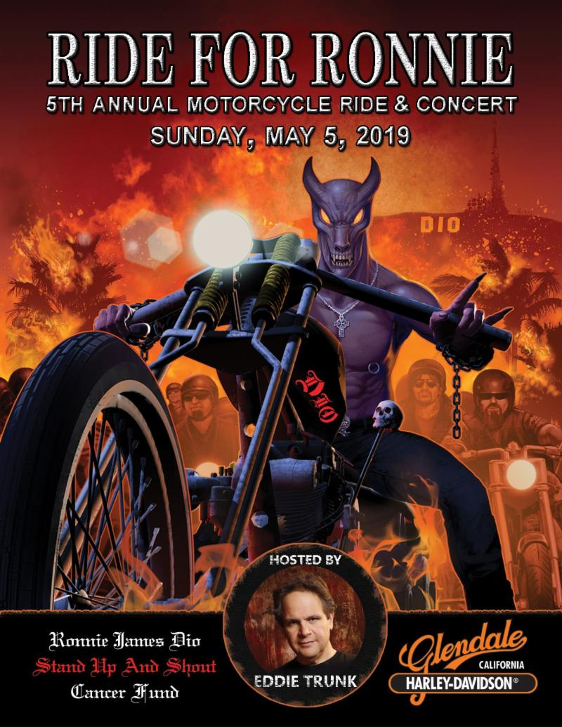 Fifth Annual RIDE FOR RONNIE Motorcycle Ride & Concert Announces Additional Performers