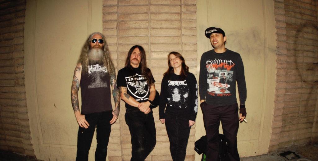 San Jose Deathgrind/Punk Unit DEATHGRAVE Announces West Coast SummerTour