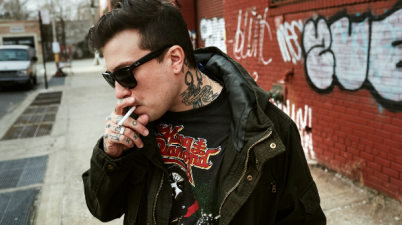 FRANK IERO Photo credit: Mitchell Wojcik