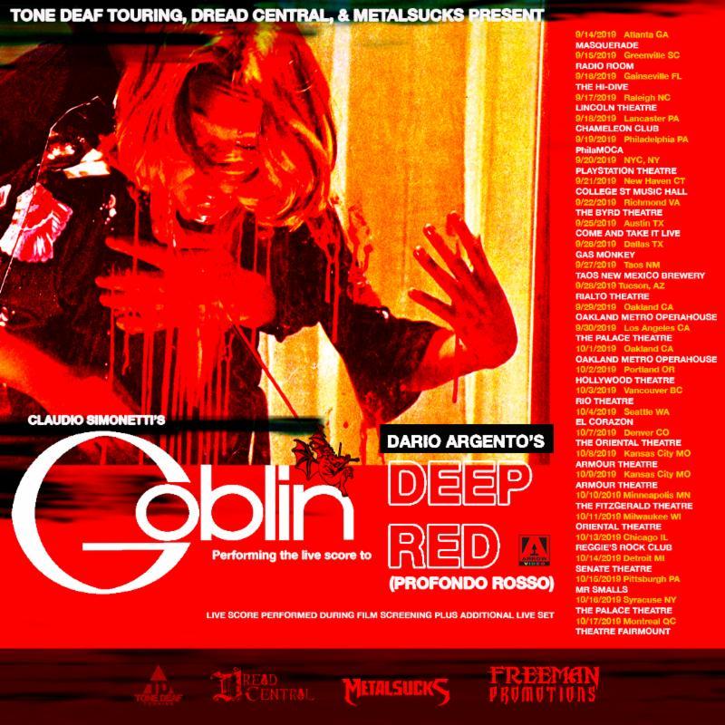 Claudio Simmonetti's Goblin Announces North AmericanTour