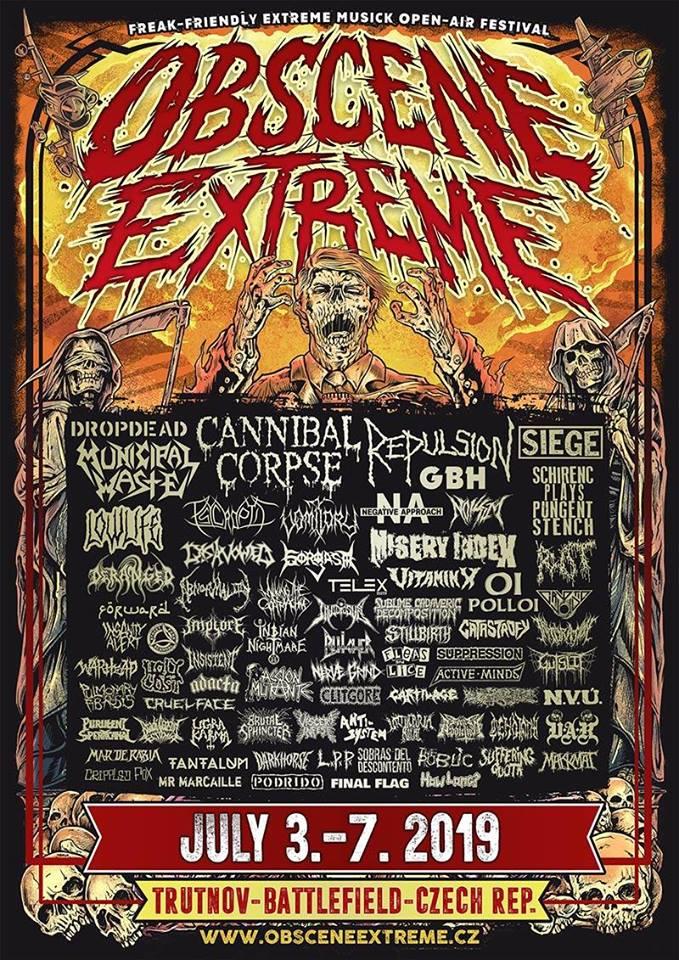 New Full Set Of CARTILAGE Live At Obscene Extreme2019