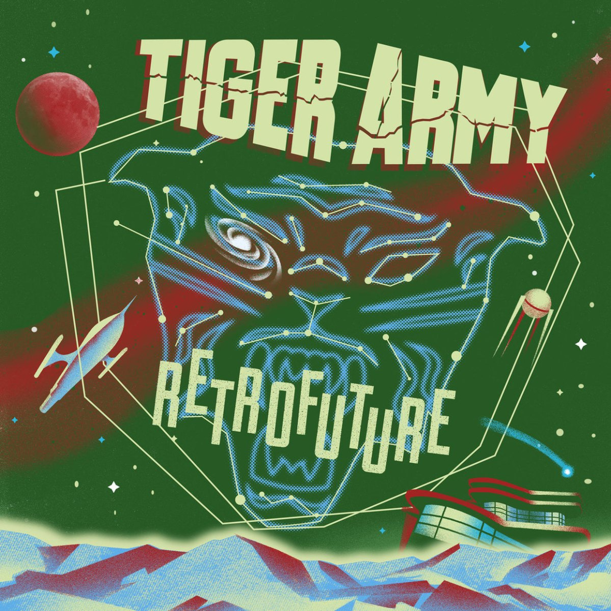 "TIGER ARMY Release New Single Off Forthcoming Album, ""Retrofuture"""