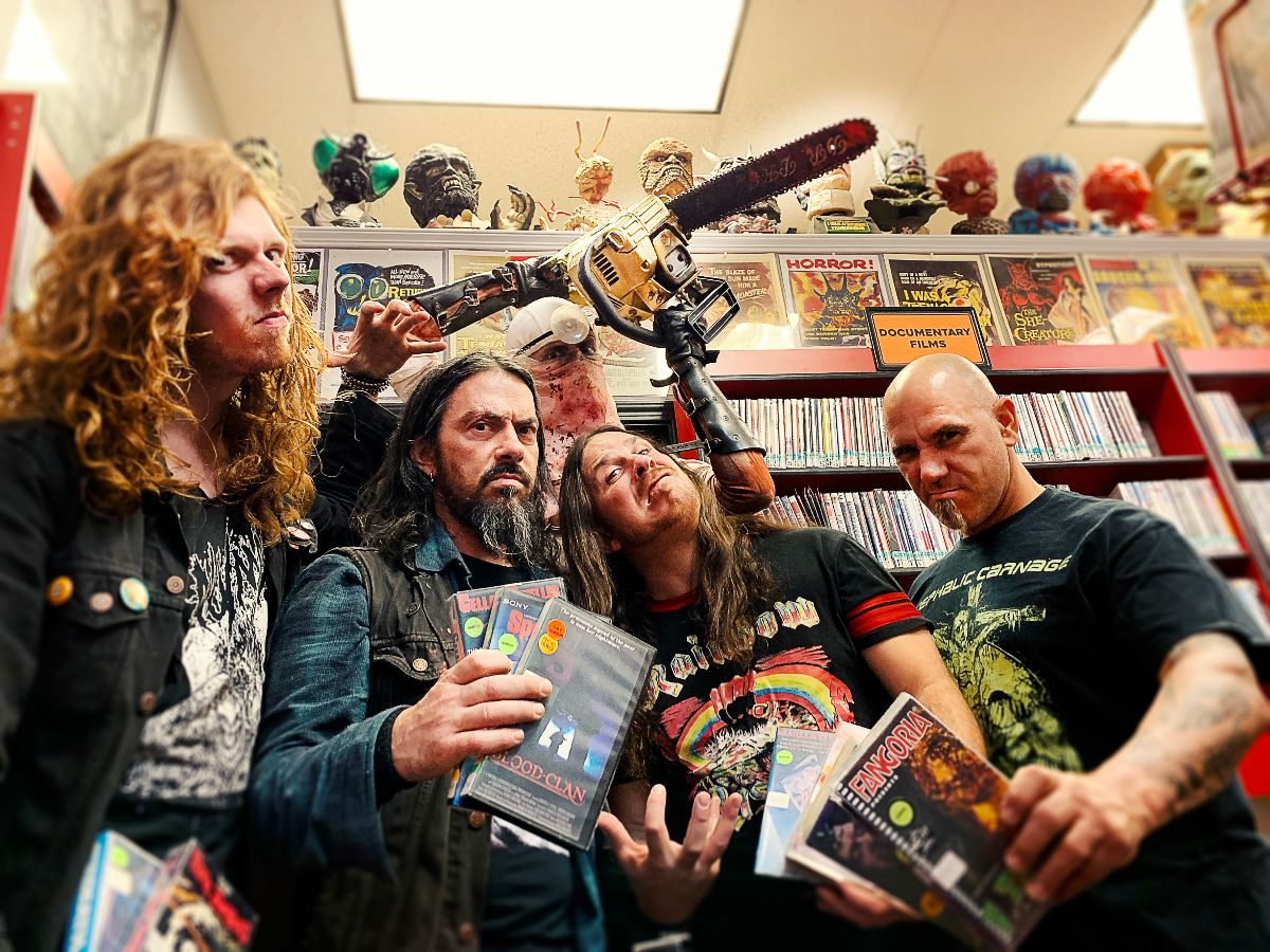 EXHUMED Announce New Album 'Horror' Coming October 4th
