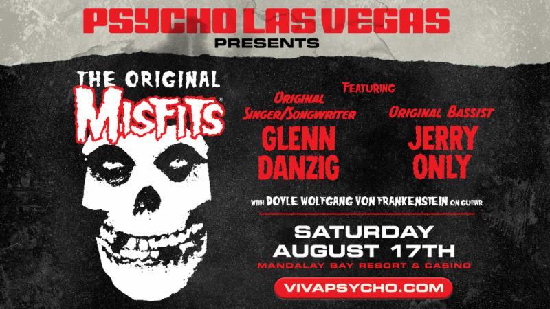 Watch A Full Set of MISFITS Live At Psycho LasVegas