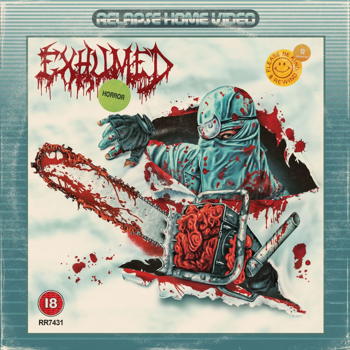 """Exhumed Share """"Playing With Fear"""" From Upcoming Album """"Horror"""""""