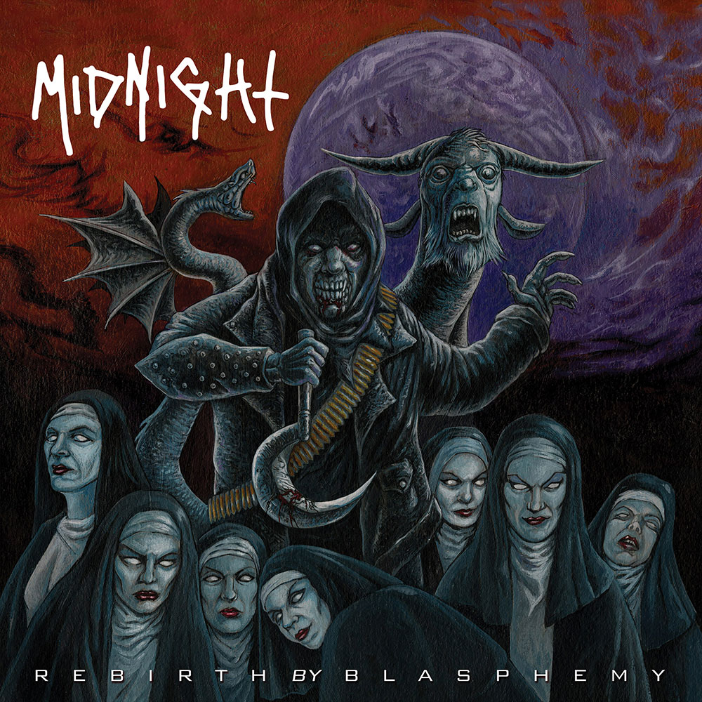 "Athenar of MIDNIGHT – ""Putting out a record on the same label as Slayer and Nasty Savage it's pretty surreal"""