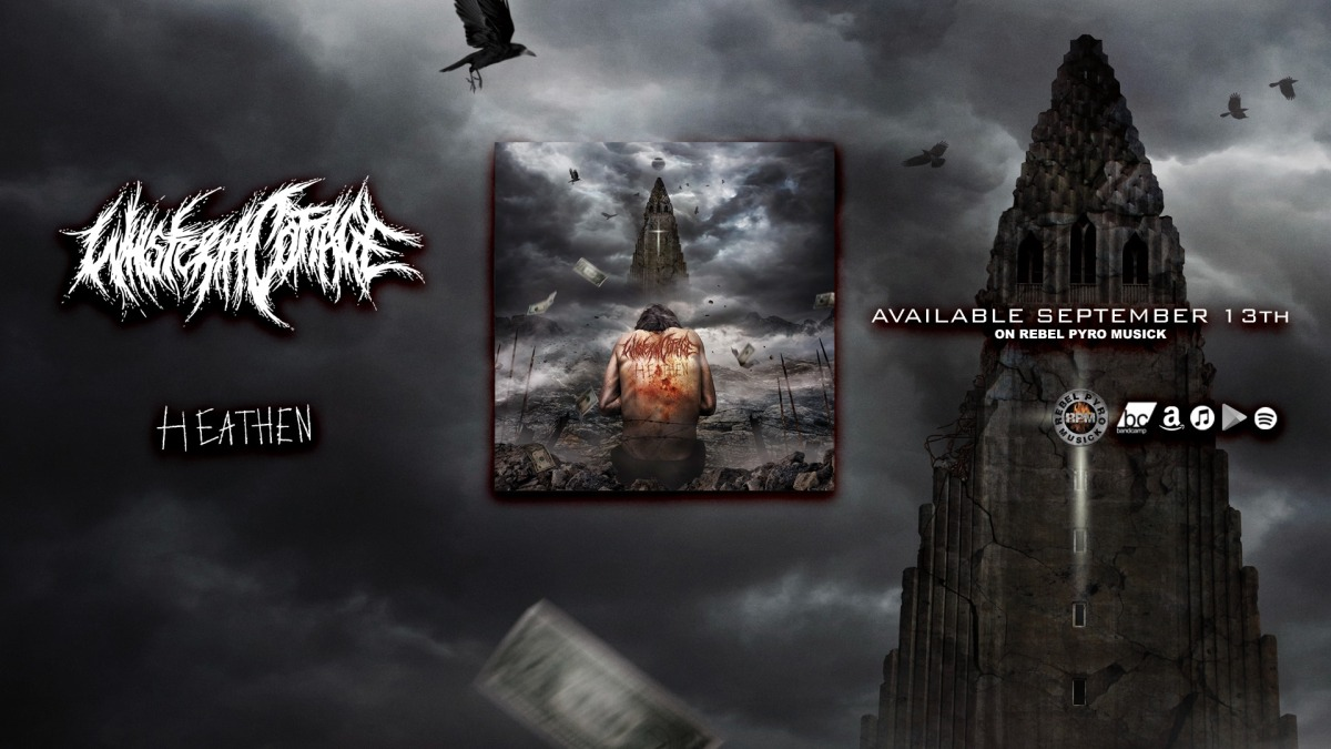 Whisteria CottagePremiere 'Confined' Lyric Video From Forthcoming 'Heathen [Remastered]'