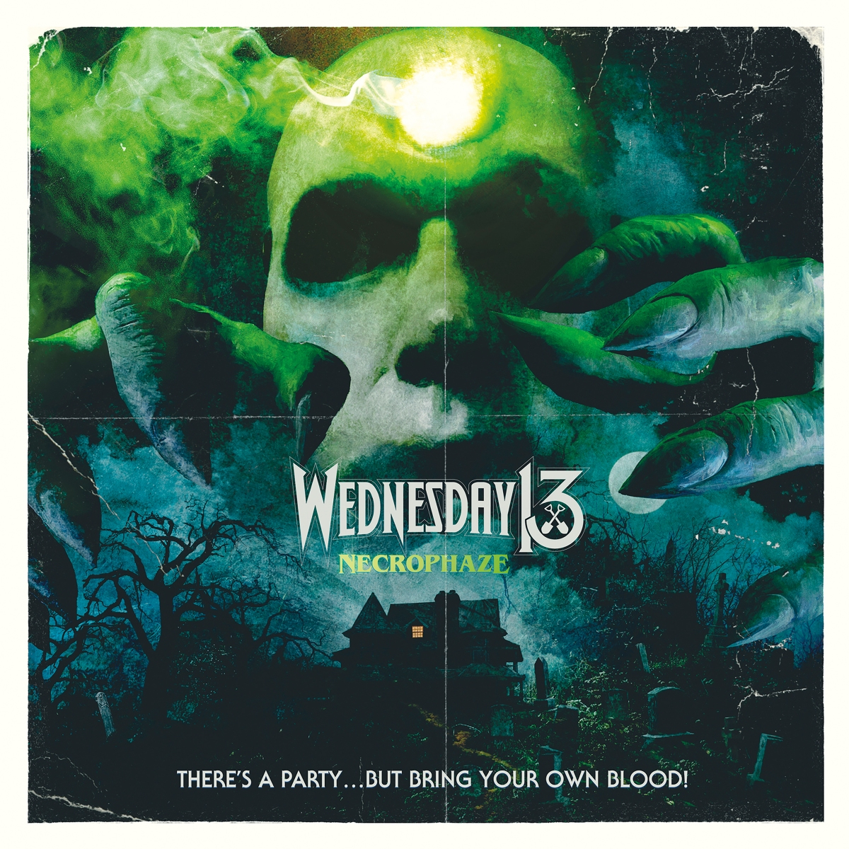 """Wednesday 13 Visualizer For New Song """"Necrophaze"""" Feat. AliceCooper"""