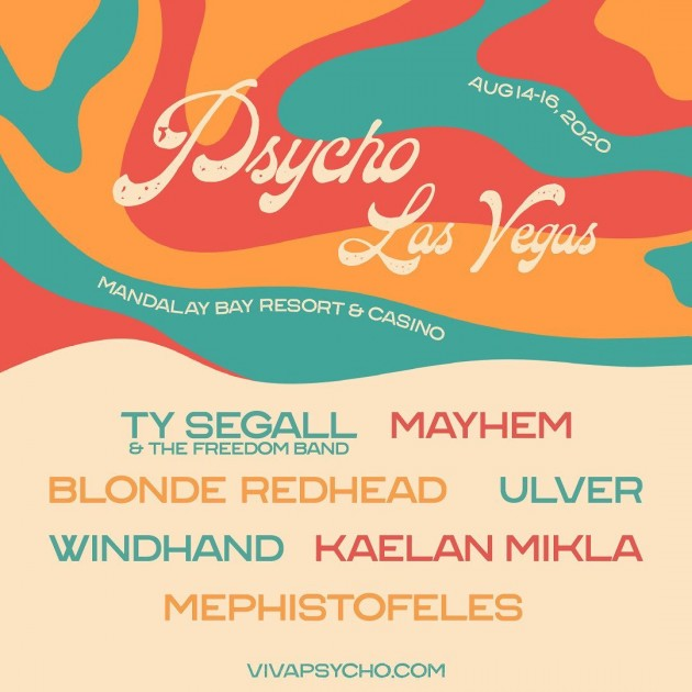 Psycho Las Vegas Announces Initial Lineup For 2020